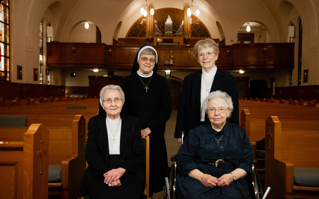 Jubilee Sisters in chapel
